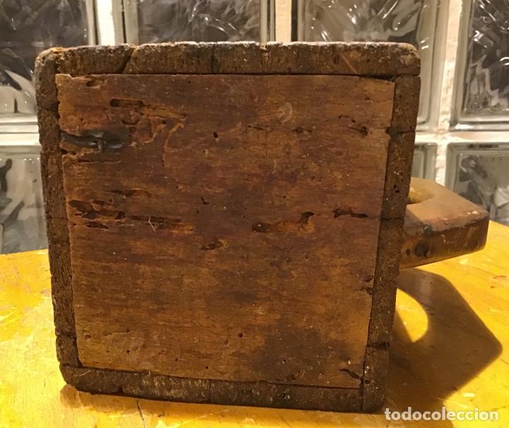 Antigüedades: ANTIGUA MEDIDA DE MADERA - Foto 5 - 181468458