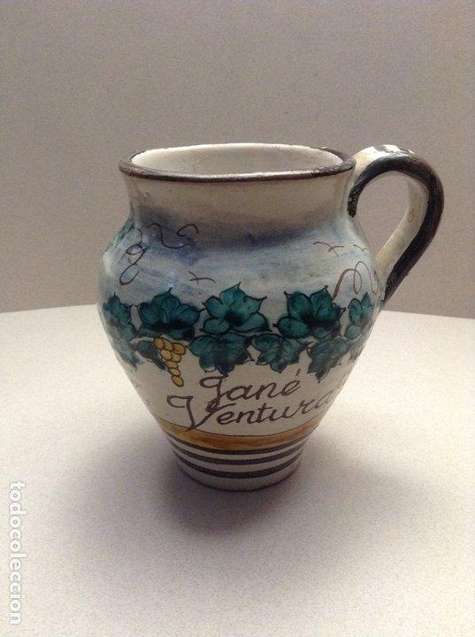 MEDIDA VINO JANÉ VENTURA (Antigüedades - Porcelanas y Cerámicas - Catalana)