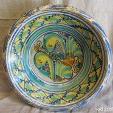Antigüedades: LEBRILLO DE TRIANA SIGLO XIX. Lote 181477168