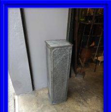 Antigüedades: PEANA METALICA PARA COLOCAR MACETA O FIGURAS. Lote 181478368