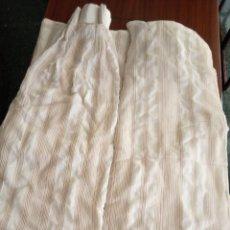 Antigüedades: PACK DE DOS CORTINAS. Lote 181482336