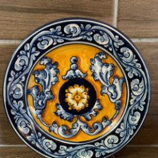 Antigüedades: PLATO DE CERÁMICA DE OROPESA. Lote 181486990