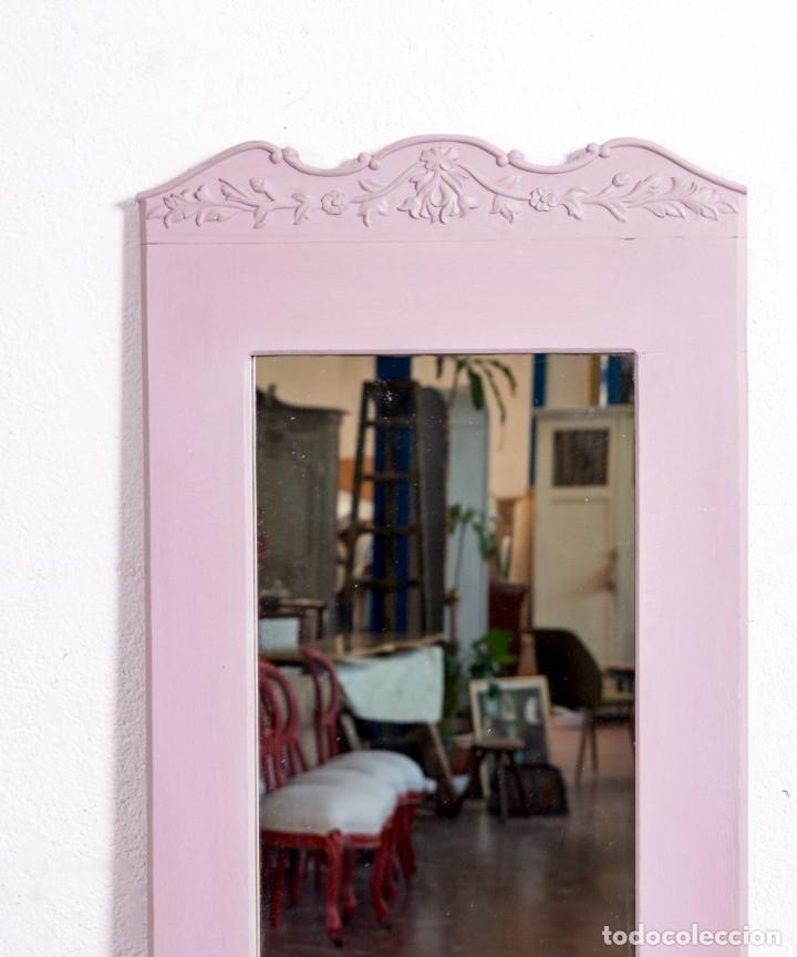 Antigüedades: Espejo Antiguo Restaurado Arelie - Foto 2 - 181495365