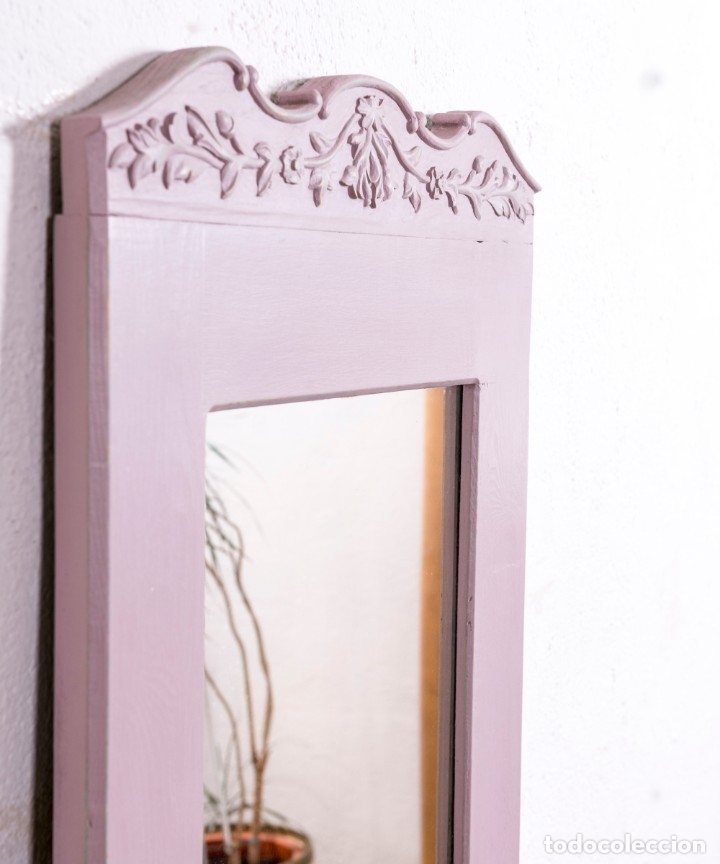 Antigüedades: Espejo Antiguo Restaurado Arelie - Foto 3 - 181495365