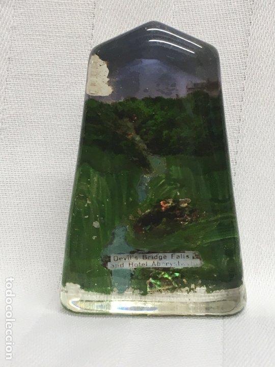 PISAPAPELES INGLÉS C. 1900 (Antigüedades - Cristal y Vidrio - Inglés)