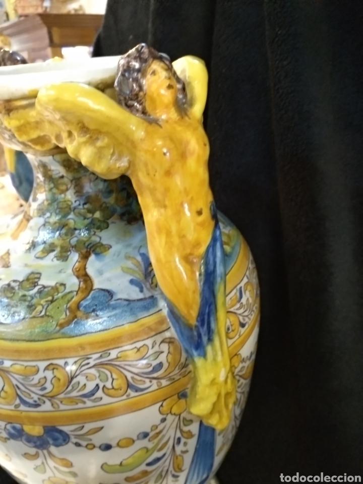 Antigüedades: Magnífico y Gran jarrón, Ruíz de Luna, Talavera, 47cm alto - Foto 3 - 181496558