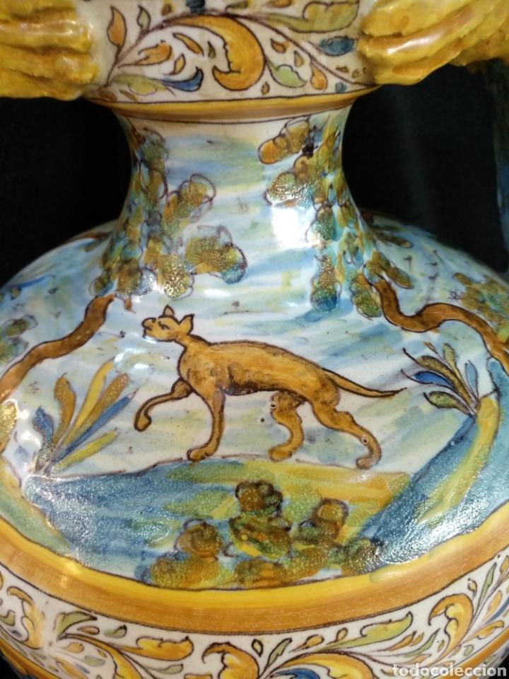 Antigüedades: Magnífico y Gran jarrón, Ruíz de Luna, Talavera, 47cm alto - Foto 6 - 181496558