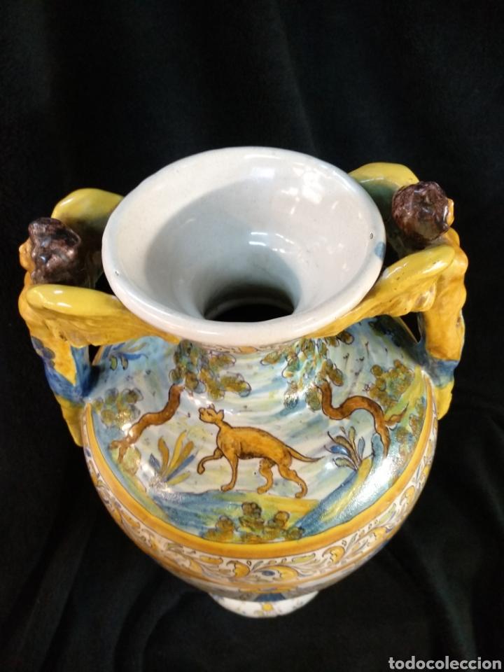 Antigüedades: Magnífico y Gran jarrón, Ruíz de Luna, Talavera, 47cm alto - Foto 13 - 181496558
