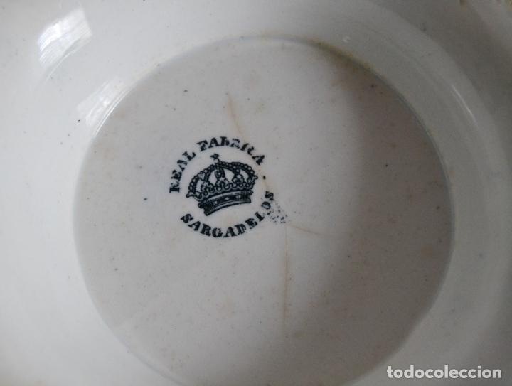 Antigüedades: ANTIGUA GRAN SOPERA REDONDA SELLADA SARGADELOS * SIGLO XIX - Foto 2 - 181508251