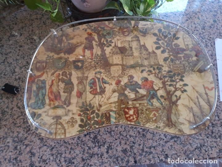 ANTIGUA BANDEJA (Antigüedades - Hogar y Decoración - Bandejas Antiguas)