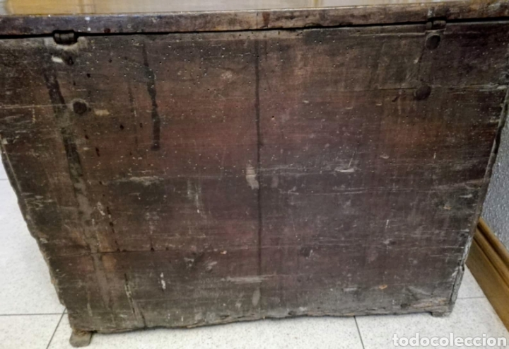 Antigüedades: Bargueño castellano de nogal, hacia 1700. - Foto 6 - 181521940