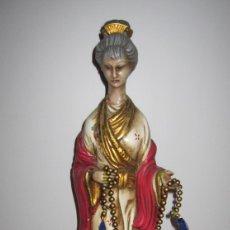 Antigüedades: ANTIGUA FIGURA GEISHA GUEISHA GEISA MUJER JAPONESA. Lote 181555102