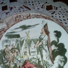 Antigüedades: PLATO SARREGUEMINES. Lote 181556041