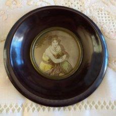 Antigüedades: ANTIGUO MARQUITO REDONDO. Lote 181565076
