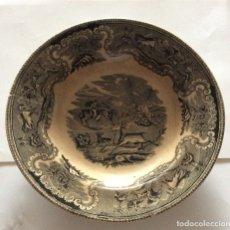 Antigüedades: PLATO DE CARTAGENA -FABRICA LA AMISTAD. 22CM . Lote 181585921