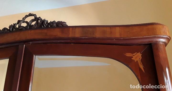 Antigüedades: Habitación completa caoba, de J.M.Busquets (Girona). Años 30. Cama,mesilla ,armario y sillas. - Foto 17 - 181602880