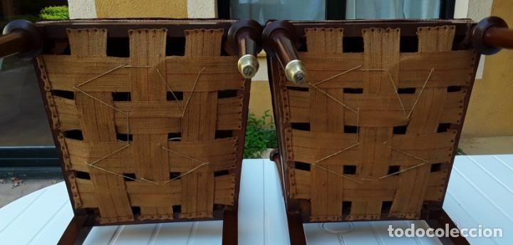 Antigüedades: Habitación completa caoba, de J.M.Busquets (Girona). Años 30. Cama,mesilla ,armario y sillas. - Foto 22 - 181602880