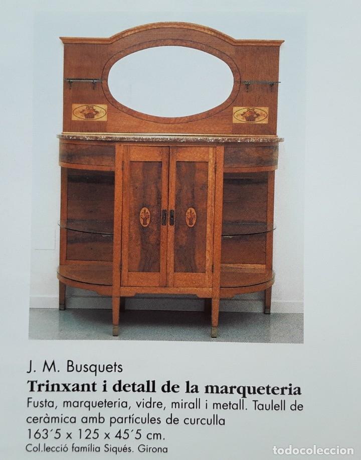 Antigüedades: Habitación completa caoba, de J.M.Busquets (Girona). Años 30. Cama,mesilla ,armario y sillas. - Foto 32 - 181602880