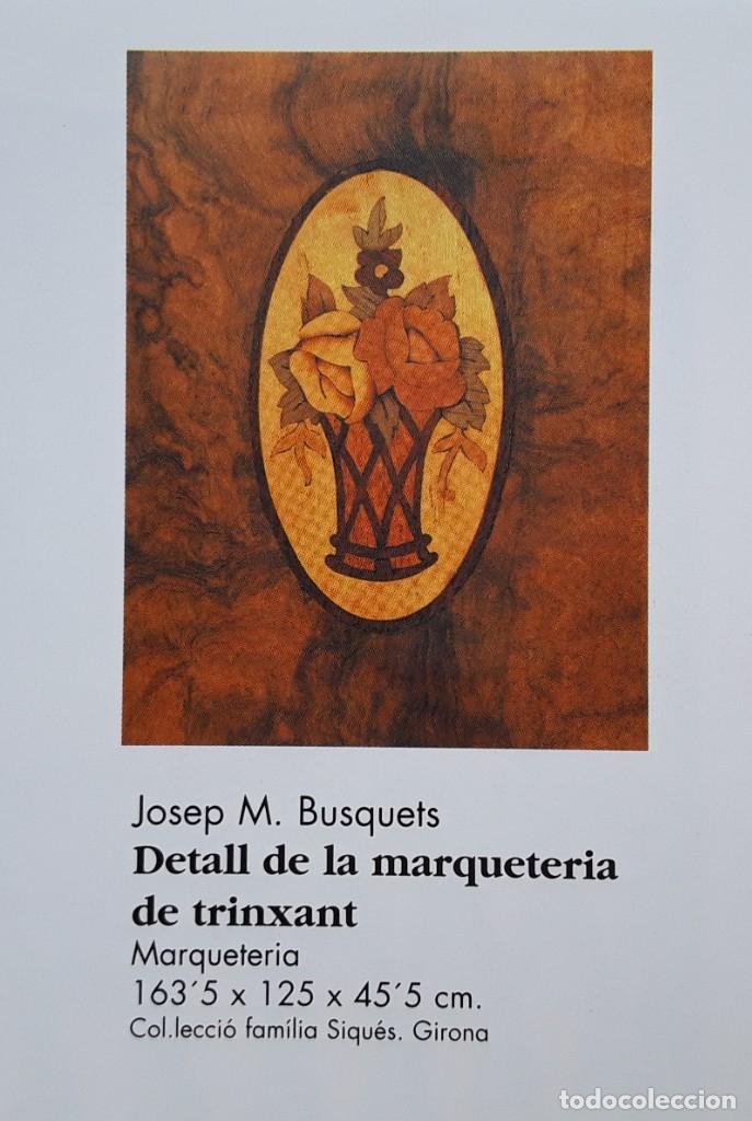 Antigüedades: Habitación completa caoba, de J.M.Busquets (Girona). Años 30. Cama,mesilla ,armario y sillas. - Foto 34 - 181602880