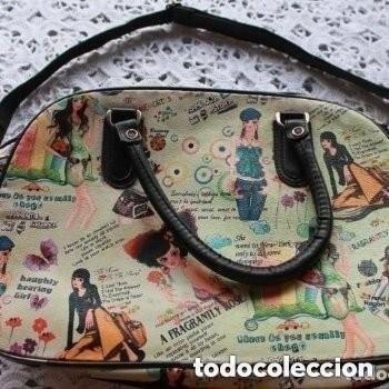 BOLSO MALETIN DE LA MARCA DESIGUAL (Antigüedades - Moda - Bolsos Antiguos)