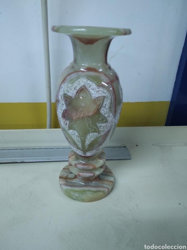 Antigüedades: Jarrón alabastro - Foto 2 - 181619023