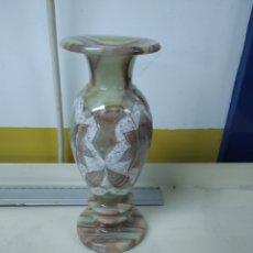 Antigüedades: JARRÓN ALABASTRO. Lote 181619023