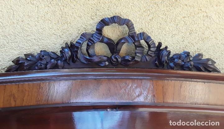 Antigüedades: Habitación completa caoba, de J.M.Busquets (Girona). Años 30. Cama,mesilla ,armario y sillas. - Foto 12 - 181602880