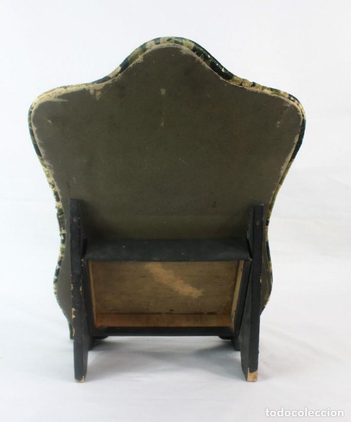 Antigüedades: Album modernista de sobremesa, es a su vez espejo, velvet bronce ligero s XIX Barcelona Art Nouveau - Foto 4 - 181705767