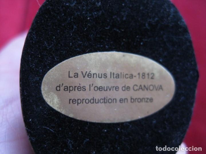 Antigüedades: VENUS ITÁLICA BRONCE MACIZO CON PÁTINA, REPRODUCCIÓN AUTORIZADA - Foto 6 - 181711723
