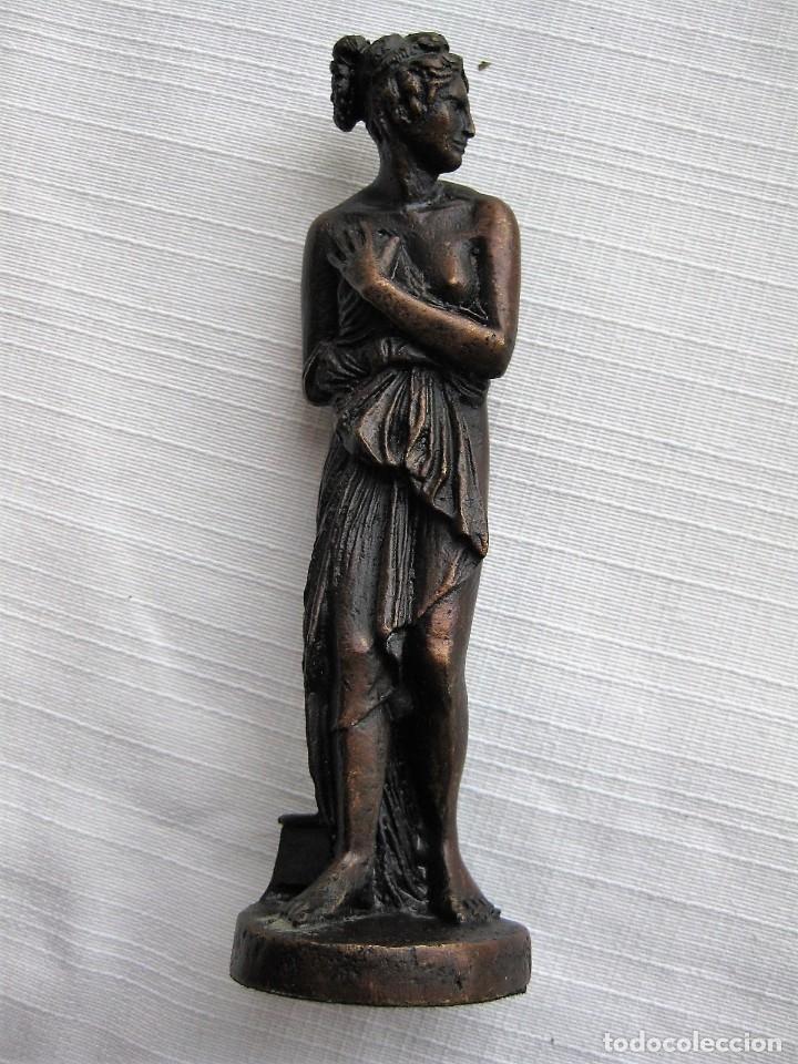 Antigüedades: VENUS ITÁLICA BRONCE MACIZO CON PÁTINA, REPRODUCCIÓN AUTORIZADA - Foto 8 - 181711723