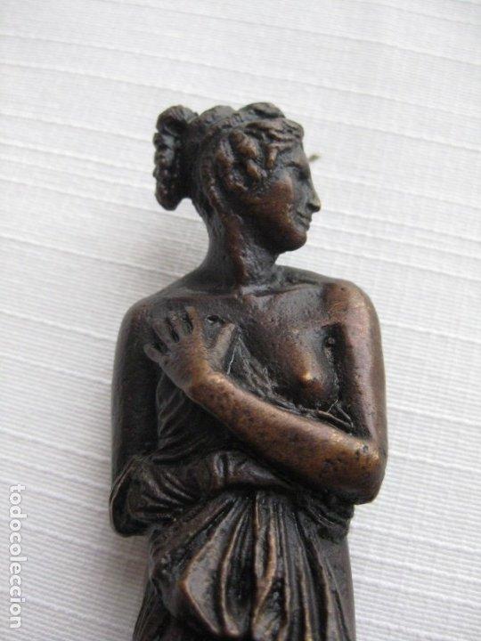 Antigüedades: VENUS ITÁLICA BRONCE MACIZO CON PÁTINA, REPRODUCCIÓN AUTORIZADA - Foto 9 - 181711723