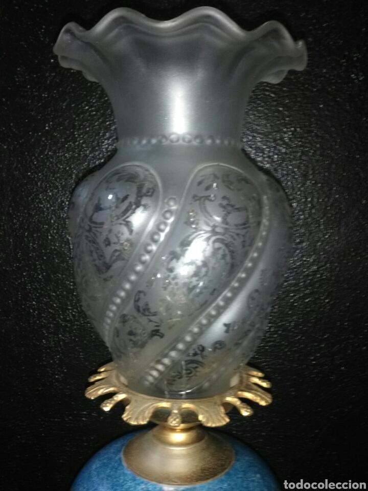 Antigüedades: PRECIOSA LAMPARA DE MESA VINTAGE - Foto 5 - 181718200
