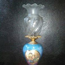 Antigüedades: LAMPARA DE MESA VINTAGE. Lote 181718200