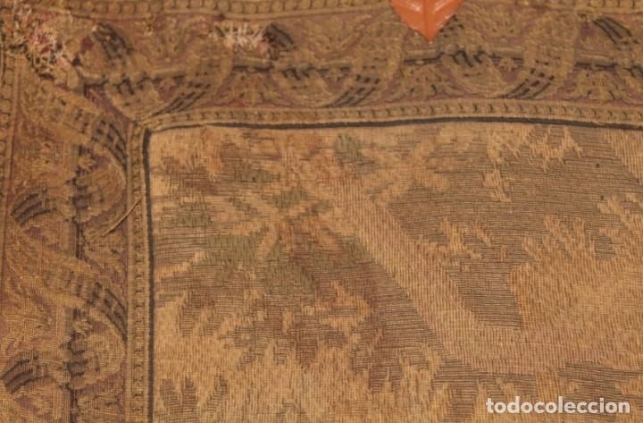 Antigüedades: Gran tapiz Gobelinos después Lionel Peraux - ca 1900 - Escena griega - 180x150cms - Foto 7 - 181745212