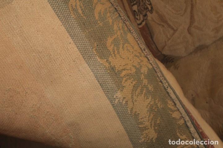 Antigüedades: Gran tapiz Gobelinos después Lionel Peraux - ca 1900 - Escena griega - 180x150cms - Foto 11 - 181745212