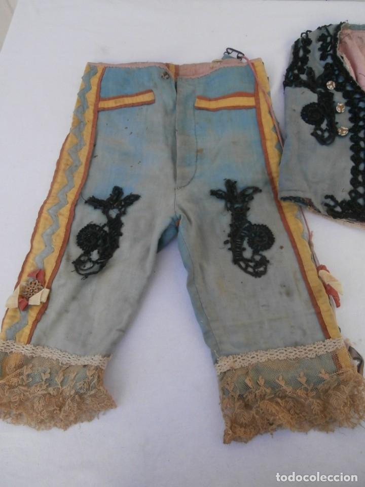 Antigüedades: traje tradicionalista de niño de siglo xix - Foto 2 - 181766713
