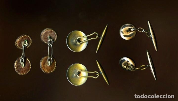 Antigüedades: 3 juegos de gemelos antiguos - Foto 2 - 181782495