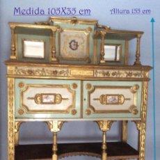 Antigüedades: APARADOR FRANCÉS SIGLO XIX APARADOR FRANCÉS LOUIS XVI, DE FINALES DEL SIGLO XIX. Lote 181791305