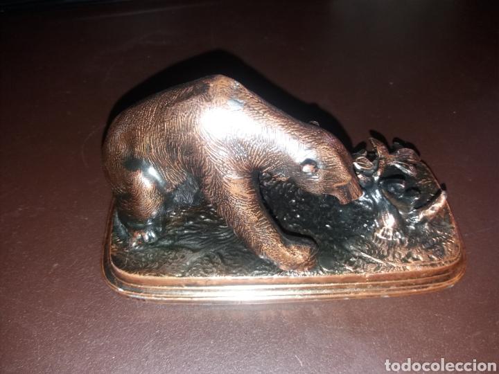 Antigüedades: Oso de bronce. - Foto 4 - 181864555