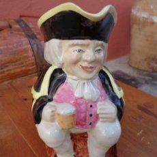Antigüedades: JARRA DE PORZELANA ANTIGUA INGLESA. Lote 181898318