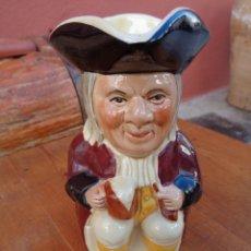 Antigüedades: JARRA DE PORZELANA ANTIGUA INGLESA - TONY WOOD -. Lote 181898767