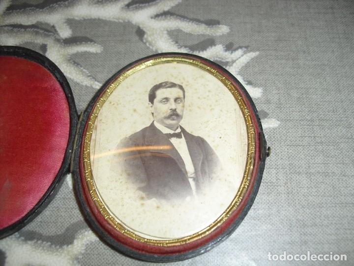 PORTAFOTOS ANTIGUOS CON FOTO (Antigüedades - Hogar y Decoración - Portafotos Antiguos)