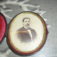 Antigüedades: PORTAFOTOS ANTIGUOS CON FOTO . Lote 181942080