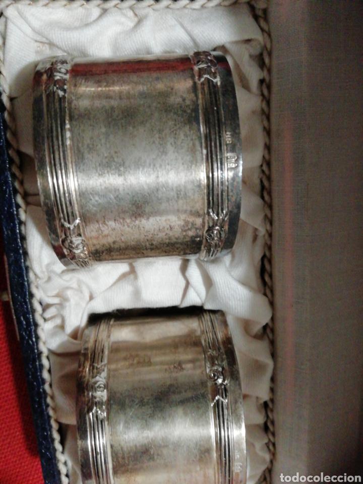 Antigüedades: Pareja de servilleteros antiguos. - Foto 4 - 181951671