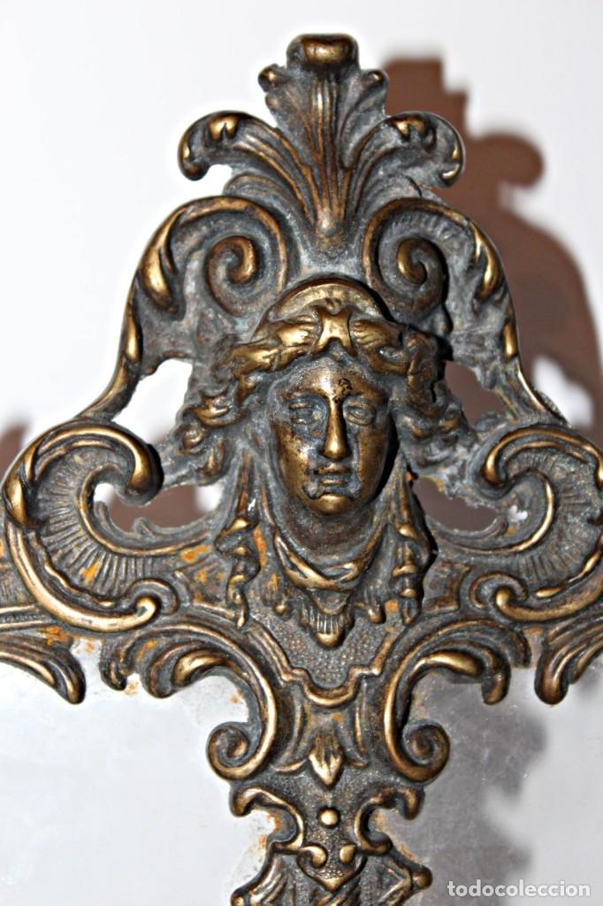 Antigüedades: Portaretratos doble de bronce años 30 (1) - Bronce - Foto 4 - 181962680