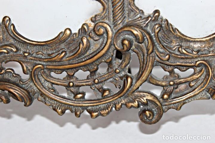 Antigüedades: Portaretratos doble de bronce años 30 (1) - Bronce - Foto 8 - 181962680