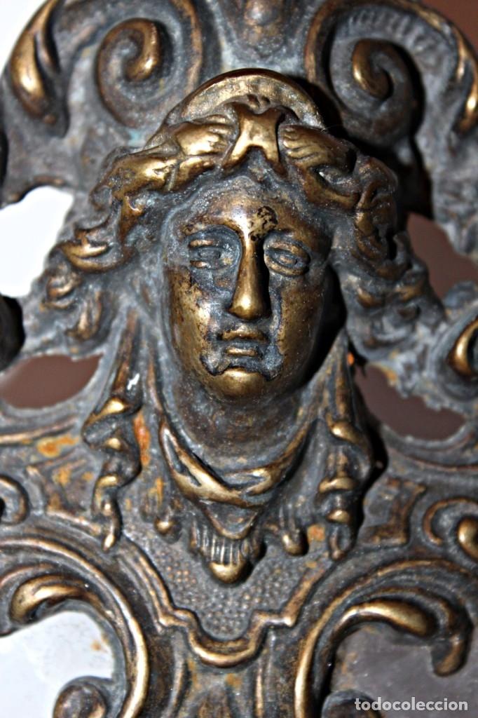Antigüedades: Portaretratos doble de bronce años 30 (1) - Bronce - Foto 9 - 181962680