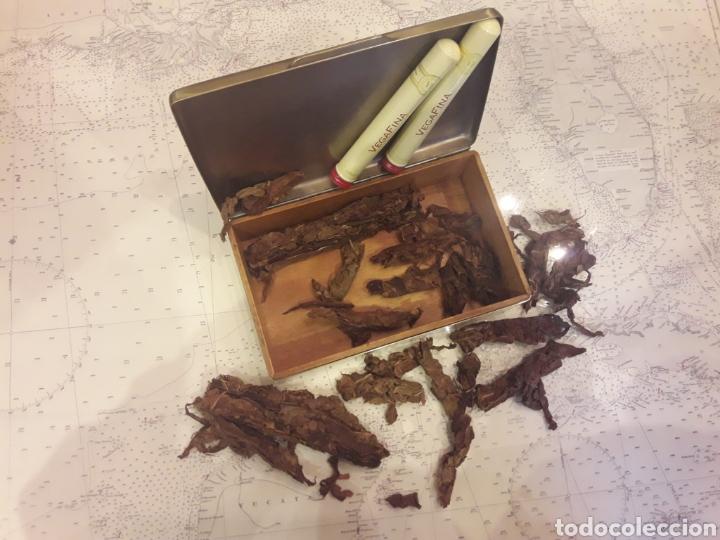 Antigüedades: Antigua caja de bronce, purera, interior en madera - Foto 9 - 172237745