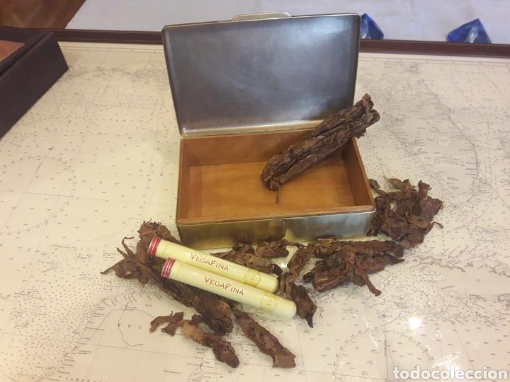 Antigüedades: Antigua caja de bronce, purera, interior en madera - Foto 13 - 172237745
