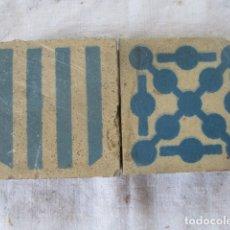 Antigüedades: AZULEJOS VALENCIANOS ANTIGUOS. Lote 181992442